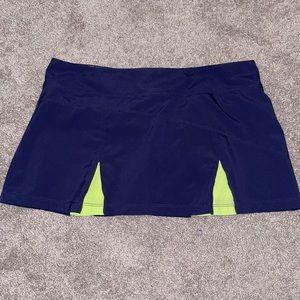 Bolle Tennis skirt large skort women's pleated